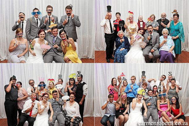 Carmen Roberts Photography, Kyle and Kerryn's Wedding 32 - group shoots   photobooth