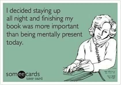 Find yourself often sleep deprived from reading? You'll relate to these funny book memes.