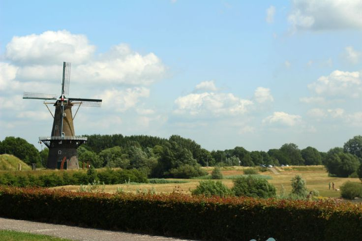 Windmills and Canals in Gorinchem