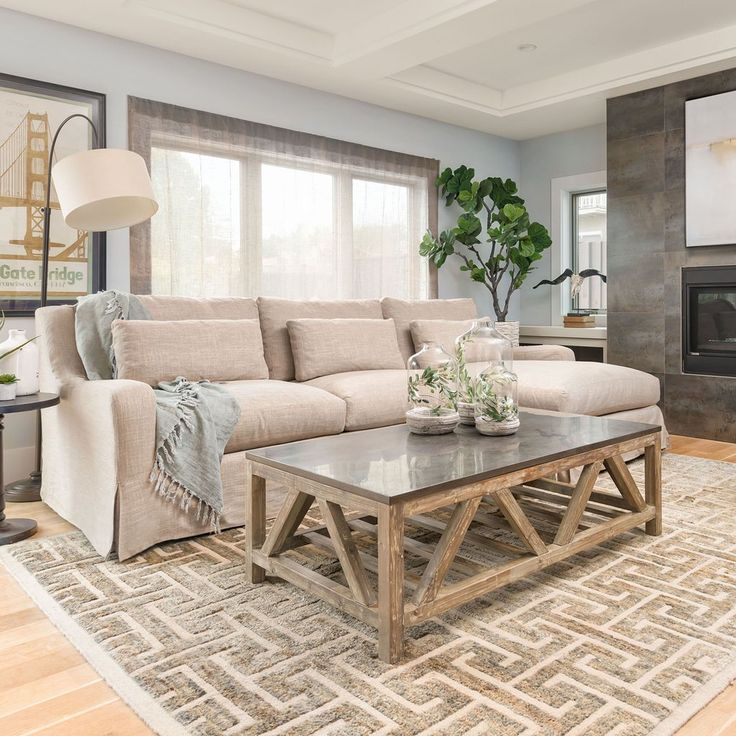 Old Fir Coffee Table With Bluestone Top Elegant Living Room