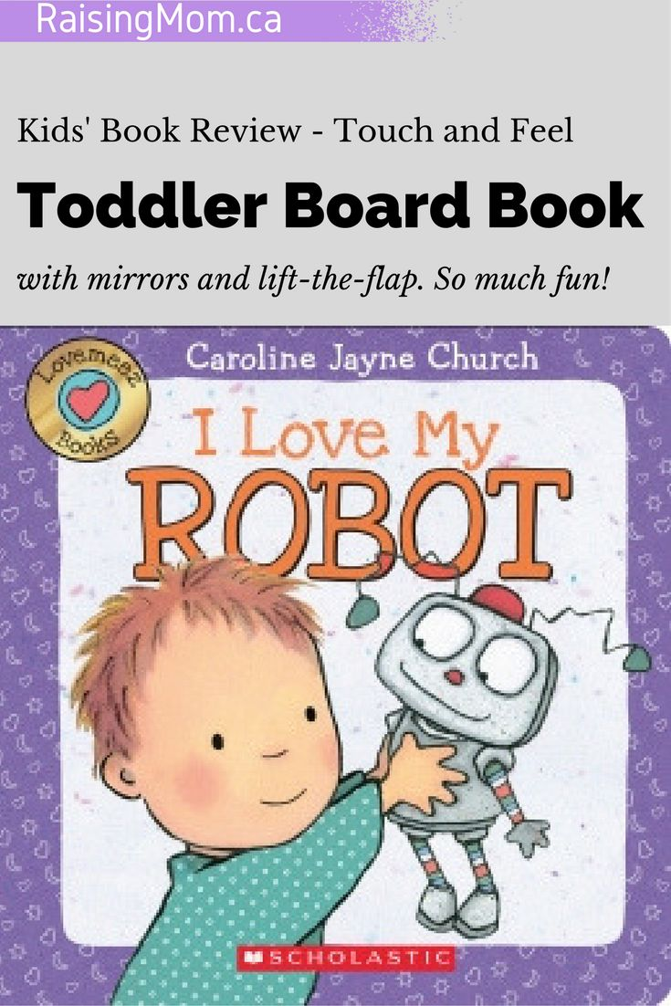 I Love My Robot by Caroline Jayne Church   toddler   babies   baby   board book   colourful   colorful   contrast   touch and feel   3D   developmental   books for kids   simple words   read   reading   little readers   books for children   book review