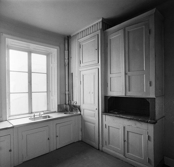 Interiör av kök, våning 3 tr. Storgatan 17 - Stockholmskällan