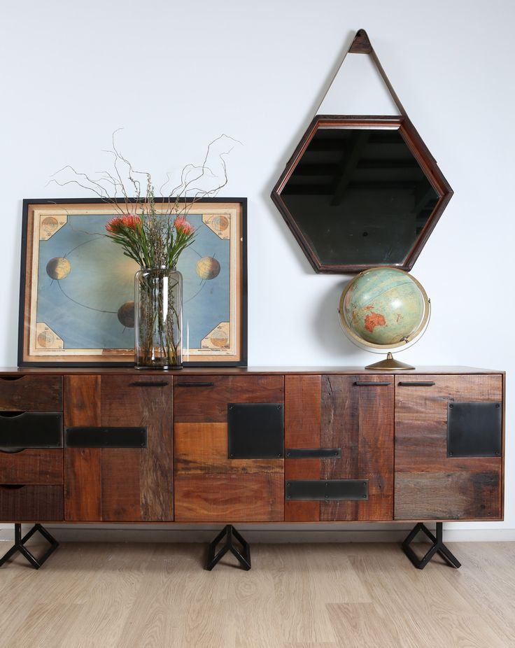 Gonzo sideboard with Lydia mirror