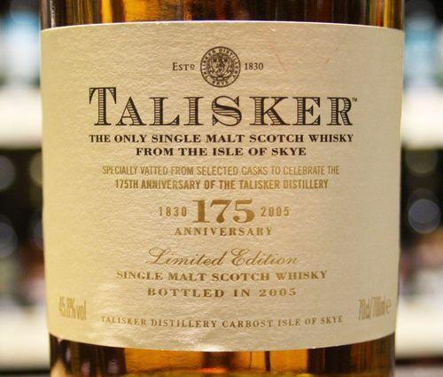Talisker is good whisky!