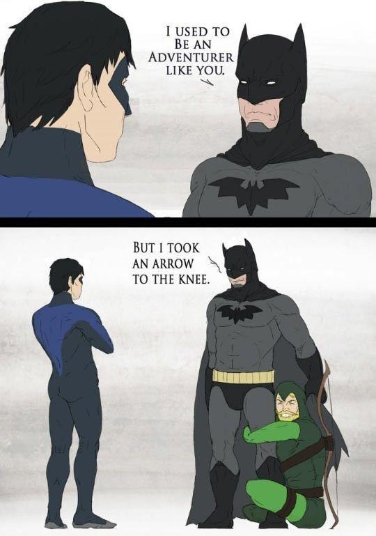 Skyrim Meets DC Comics #lol #haha #funny