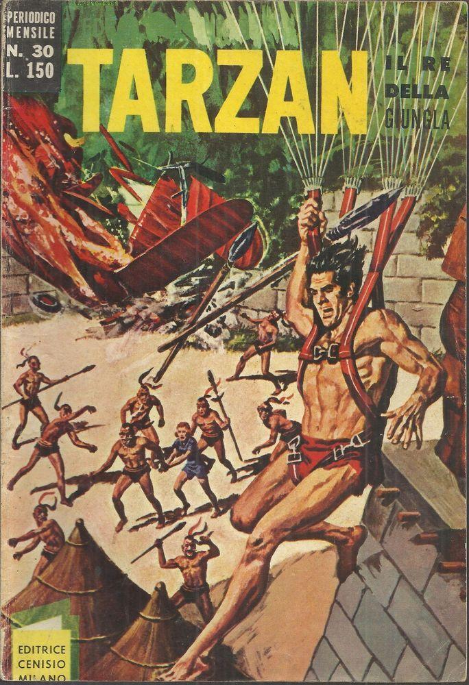 TARZAN N° 30 ed cenisio