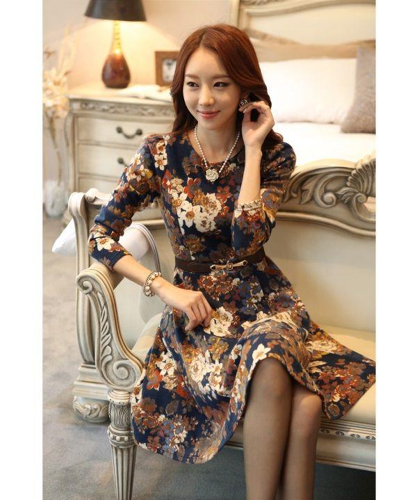Korean summer fashion dress 2018