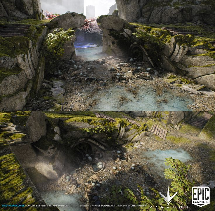 ArtStation - Paragon Misc Environment Assets, Scott Homer