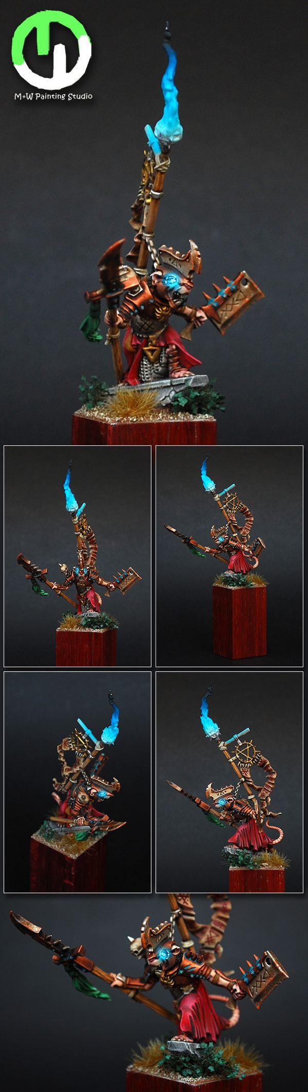 Skaven Warlord of Island of Blood