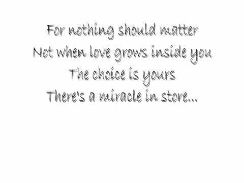 ▶ Whitney Houston - Miracle Lyrics - YouTube
