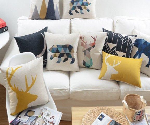 renkli dekoratif yastık tasarımları
