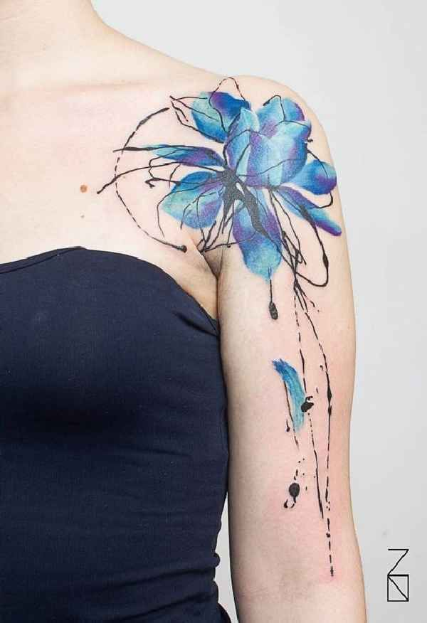 Blue Tattoo 007