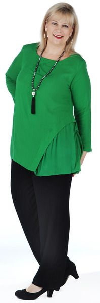 TOP T263L Colour: EMERALD Size: 10-24
