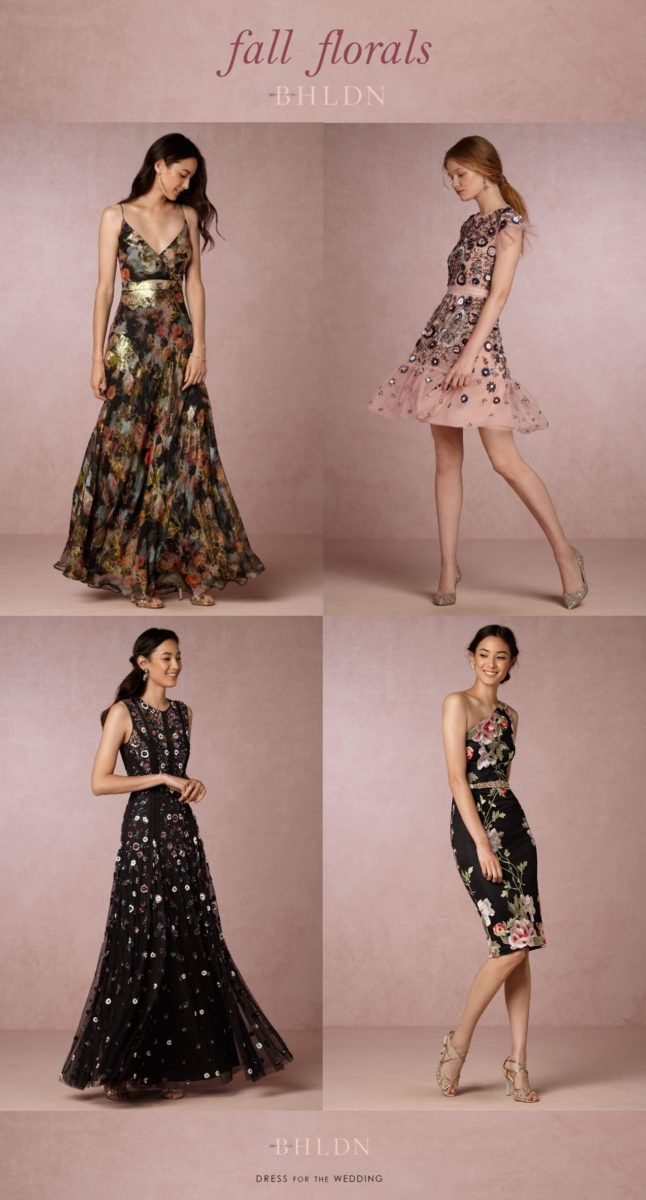 516 best holiday dresses and outfits images on pinterest for Floral dresses for wedding guests
