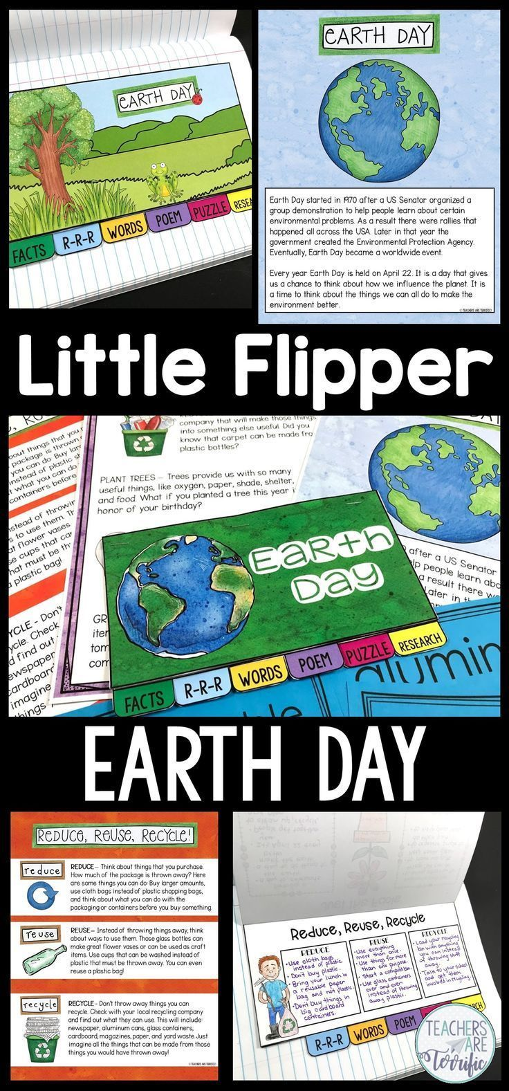 Earth Day Little Flipper Earth Day Earth Day Posters