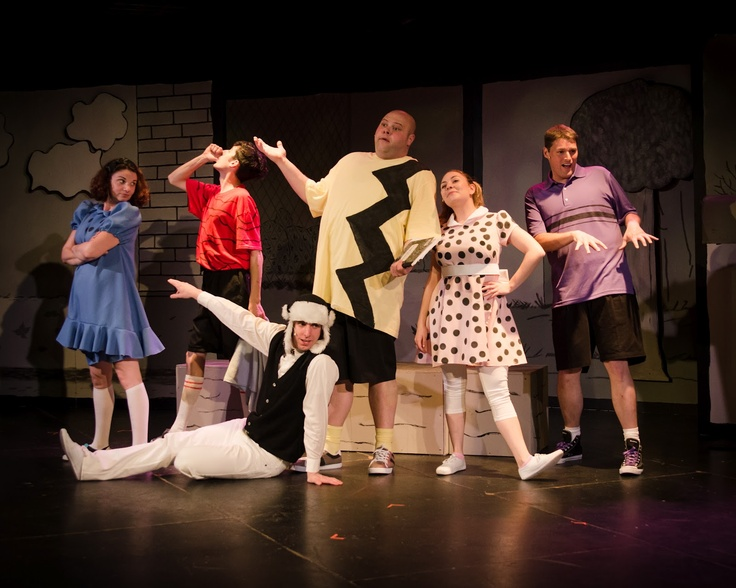 Arts After Hours cast of You're A Good Man, Charlie Brown