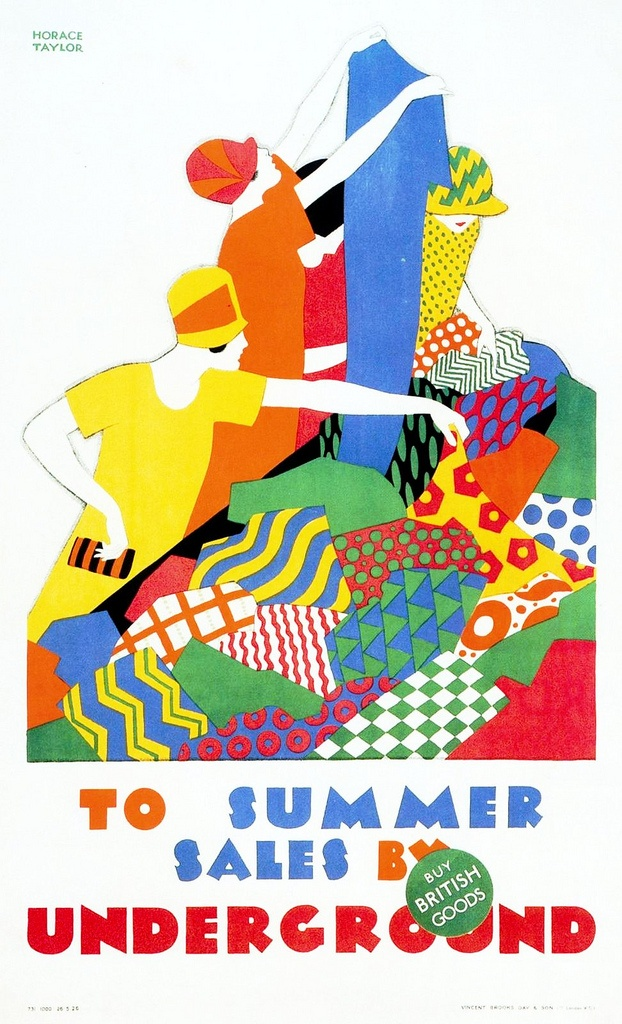 Horace Taylor. Summer Sales. 1926
