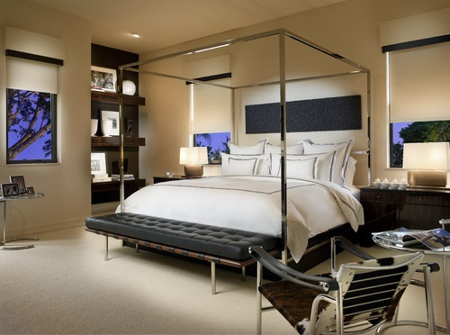 Adelson contemporary bedroom