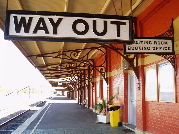 Parkes Train Station, Parkes NSW