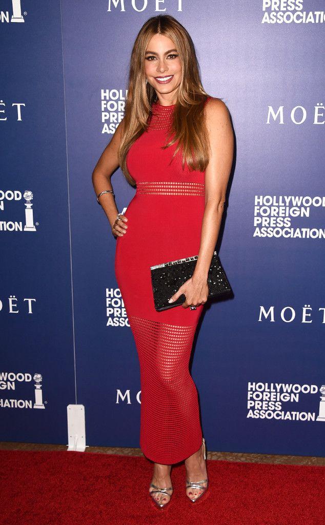 Sofia Vergara Red dress