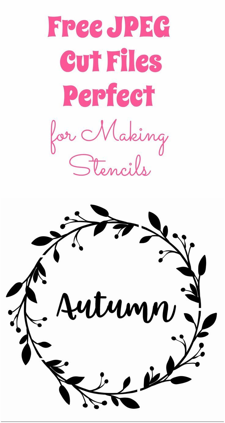 How To Make Large Letter Stencils With A Cricut
