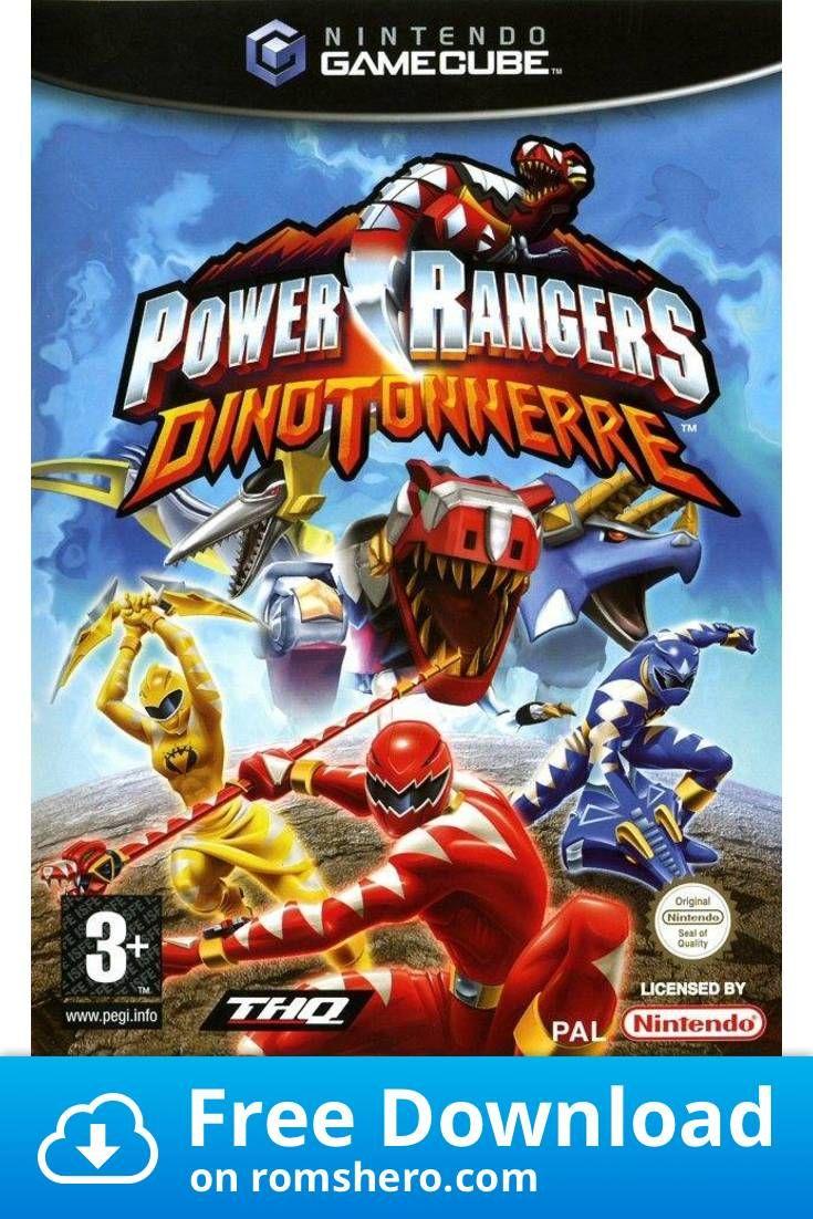 Download Power Rangers Dino Thunder Gamecube Rom Power Rangers Dino Power Rangers Power Rangers Videos