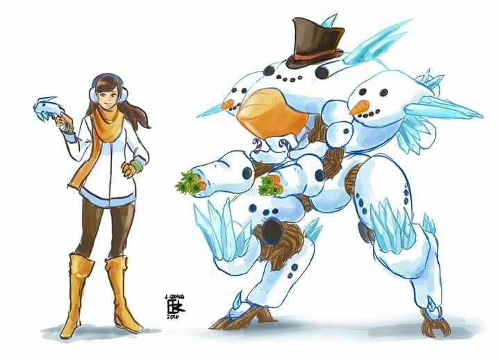 dva snowman skin concept please can this be a skin like this is so freakin adorable. Black Bedroom Furniture Sets. Home Design Ideas
