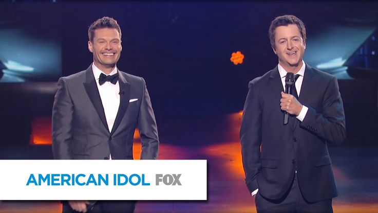 Ryan Seacrest and Brian Dunkleman Reunite for Idol Finale! - AMERICAN IDOL