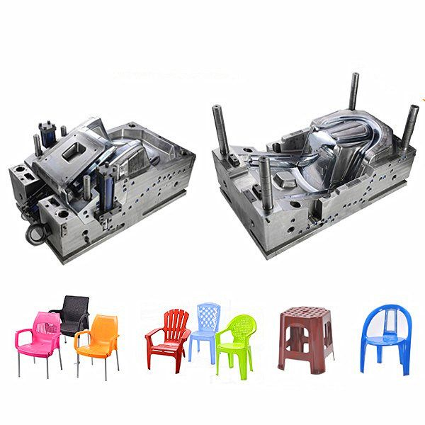 China Supplier Plastic Injection Molded Chairs Mold for Home Use