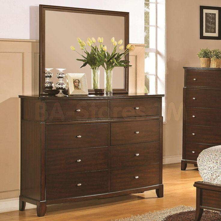 coaster furniture addley dresser and mirror