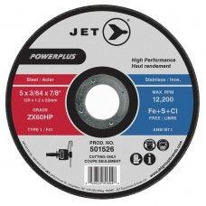 J501521 Jet Equipment & Tools 4-1/2 x 3/64 x 7/8 ZX60HP POWERPLUS T1 Cut-Off Wheel