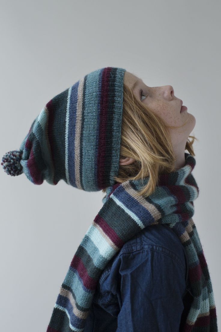 KIT COUTURE Vega Scarf and Hat