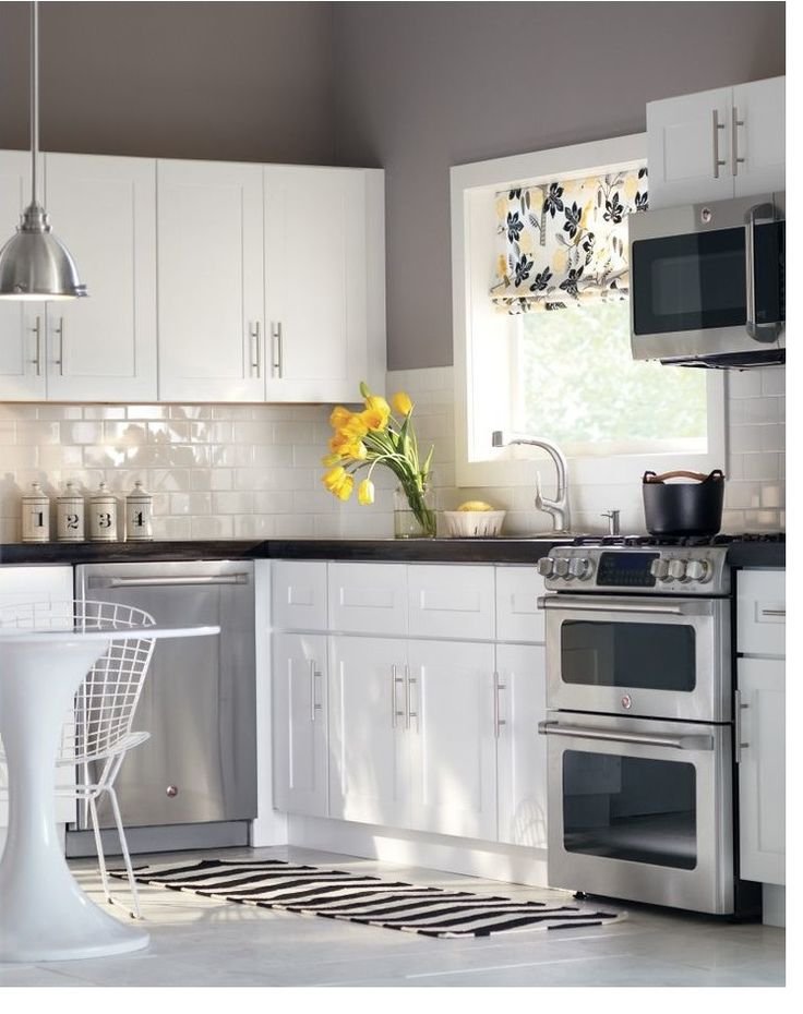 Beautiful Crisp Gray Kitchen Get The Look With Dunn
