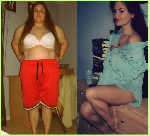 This before and after weightloss pic doesn't even look like the same person in General Discussion Forum