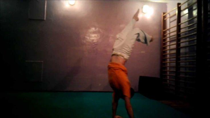 Capoeira Macaco - w GRYzoniowej koszulce :)