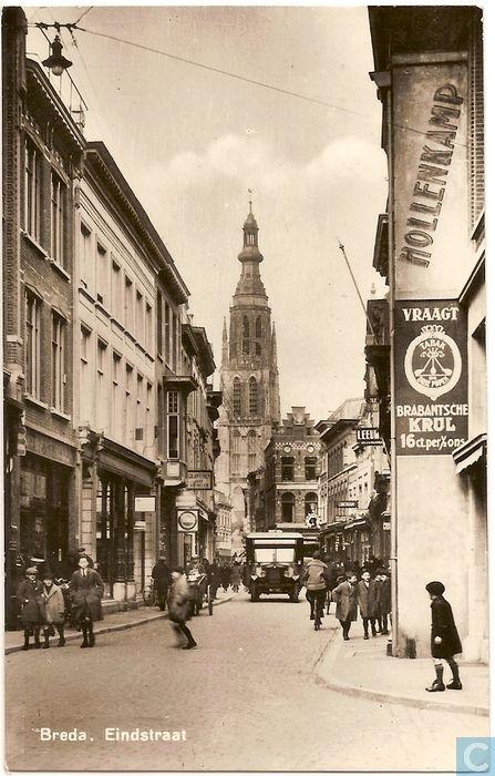 Breda - Eindstraat.
