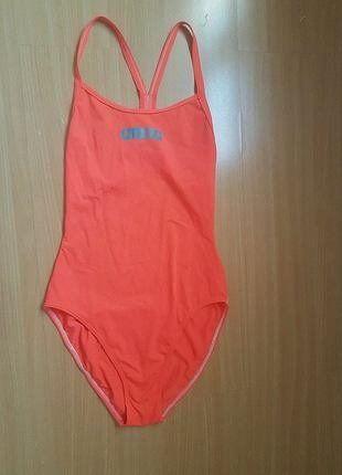 À vendre sur #vintedfrance ! http://www.vinted.fr/mode-femmes/maillots-une-piece/35469382-maillot-de-bain-de-natation-arena-orange-fluo