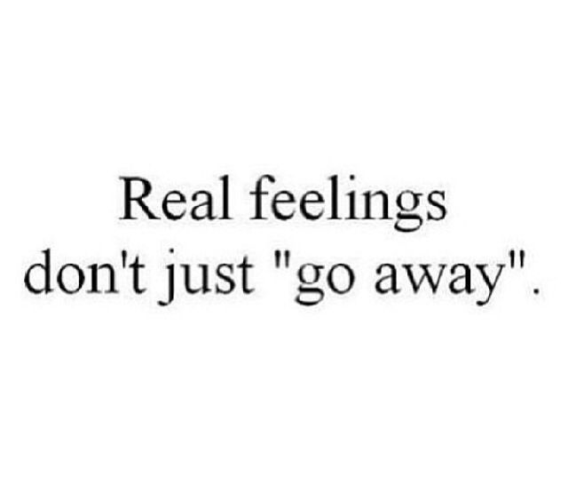 Why would you want feelings to go away though? If you love someone you obviously can't let them go... so don't try to!