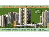 Arihant Arden, buy wonderfully created apartments in a well-crafted residential…
