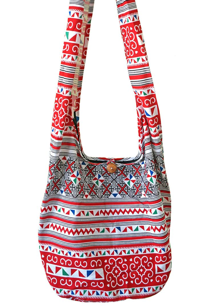 """Artiwa Hippie Sling Crossbody Shoulder Bag and Purse for Women Zipper Geometric Red White Black. Red/White/Black colors. Unique and Stylish Geometric Design. Zippered Top Closure assures the security of your personal belongings with inside pockets for sort and separation. Height : 14"""" Width : 16"""" Depth : 8 """" Length of Strap: 42"""" Width of Strap: 5"""". Only avaialble at Artiwa sotre. Beware of Counterfeit Artiwa Products. Fake products do not represent Artiwa's high standards for design..."""