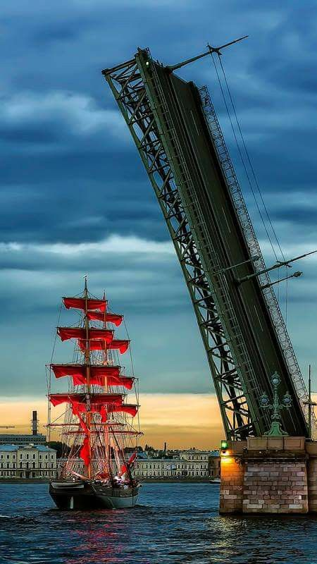 Scarlet Sails - St. Petersburg | Russia Photograph by Shcherbyk Photo source…