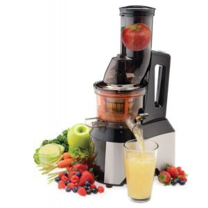 Made for mess-free operation, this juicer is great for clean-freaks as it performs all the functions of a juicer without drenching your counter in fruit juice/pulp.