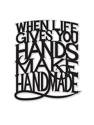 So true. I love most things DIY and making things from scratch and using my hands creatively. Many of the best things are handmade or natural...and I love the fulfilling sense of appreciation that comes with making something from the ground up and incorporating it into my life or sharing it with others. Really warms my spirit...