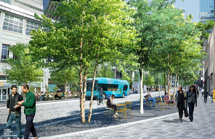 Minneapolis'James Corner-designedNicollet Mall project has hit a speedbump as an initial construction bid has come in at over $24 million over budget.