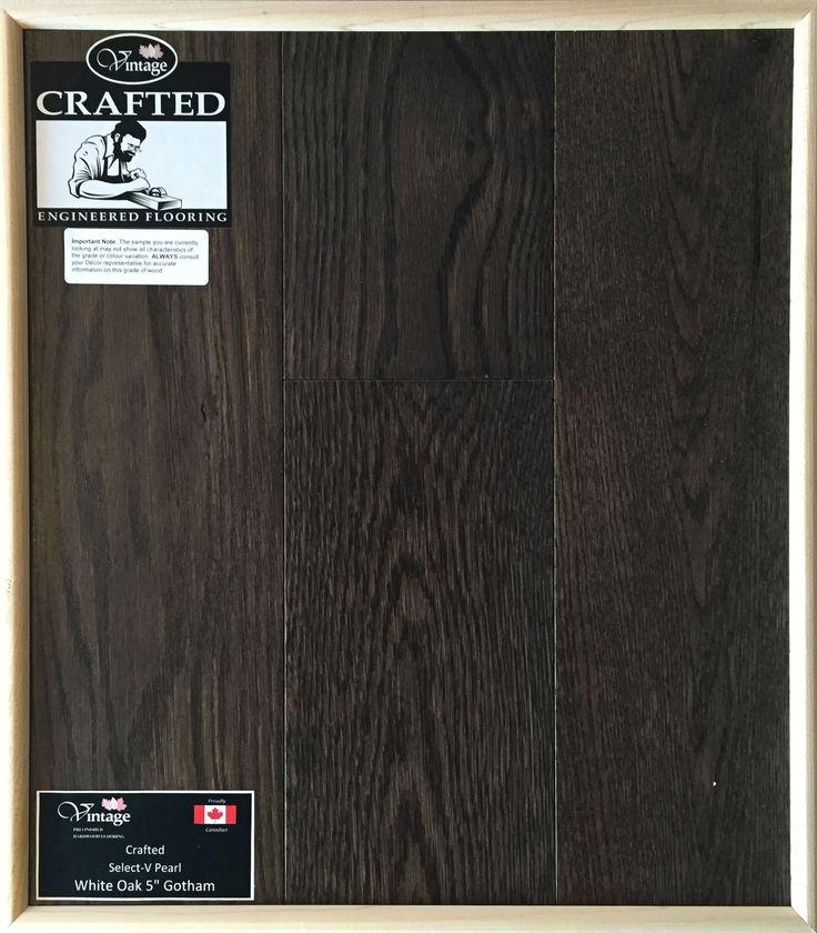 """Included Engineered Hardwood Flooring - White Oak 5"""" Gotham"""