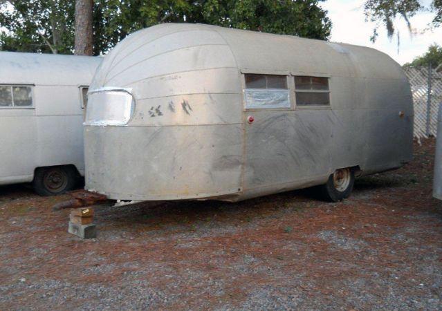 1947 Airstream Trailwind Extremely rare model Price: £12,000 plus VAT