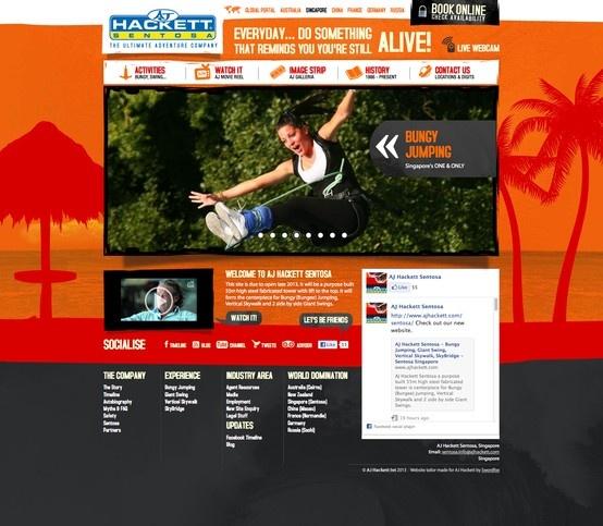 AJ Hackett Singapore (Sentosa). http://www.ajhackett.com/sentosa/