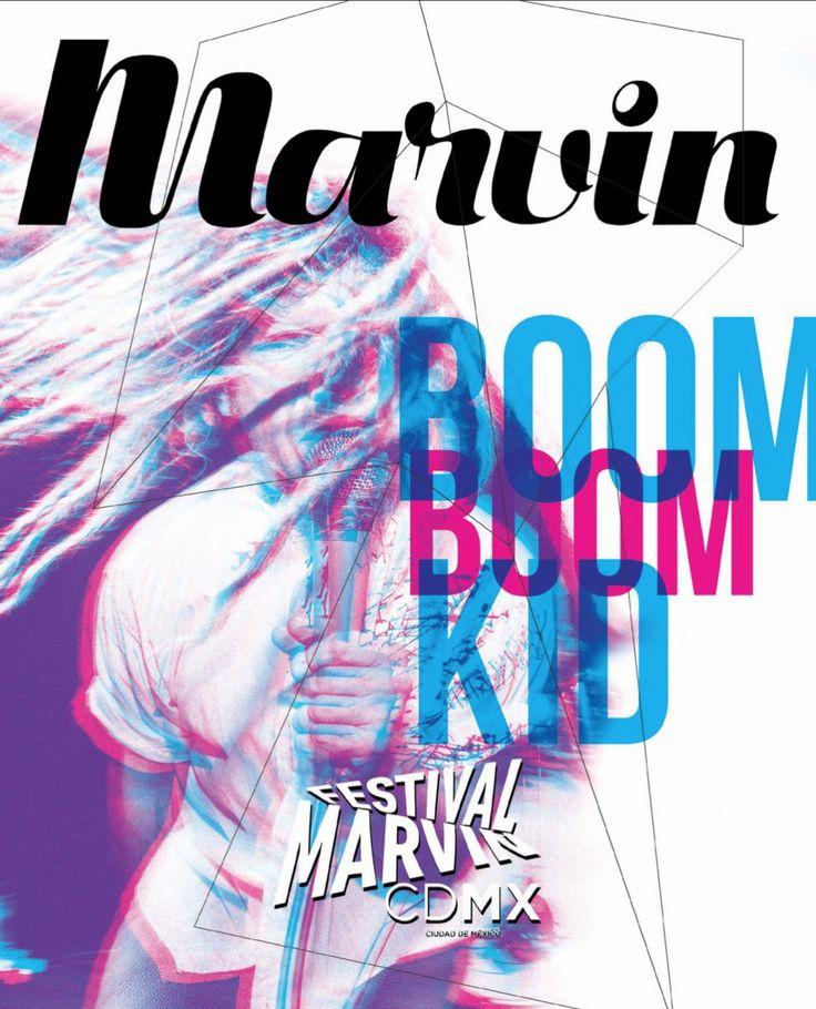 Revista Marvin 151: Provocadores en la CDMX Festival Marvin CDMX | En Portada Boom Boom Kid  #BoomBoomKid #Rock #MagazineCover #CoverJunkie #FestivalMarvinCDMX #RevistaMarvin #Marvin #ArtDirection #Magazine #EditorialDesign #Editorial #GraphicDesign