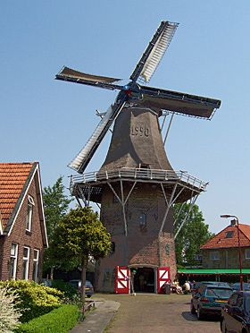 Flour mill Welgelegen / Tjepkema's molen, Heerenveen, The Netherlands