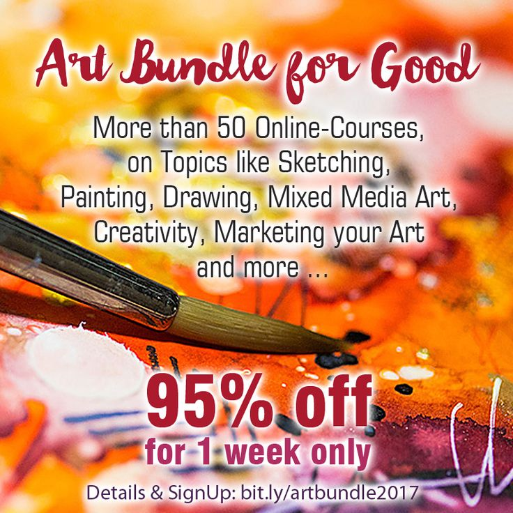 61 best drawing and painting inspiration images on pinterest art over 50 art online classes for 95 off the art bundle for good an amazing deal for one week only dont miss it fandeluxe Image collections